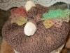 Oak Leaf and Acorn Hat Top by Margaret Hendrickson