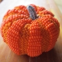 Little Beaded Pumpkin e-Pattern
