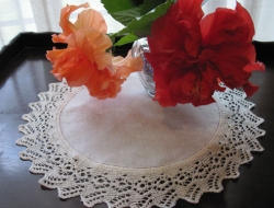 Lace-edged Doily  e-Pattern (expanded 4-page edition)