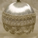 Satin and Lace Ornament Kit (includes pattern)