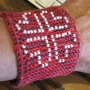 Beading Hearts Friendship Bracelet e-Pattern