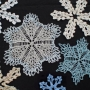 Lacyflakes e-Pattern (knitted snowflakes)