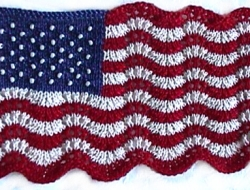 Supplies Pak for Mini Lace and Beaded Flag (does not include pattern)