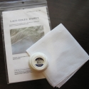 Lace Edged Linen Handkerchief Knitting Kit (includes pattern)