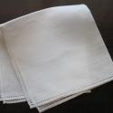 Hemstitched Linen Handkerchief