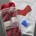 Patriotic Bead Striped Socks Kit (includes pattern)