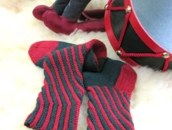 Peppermint Sticks 2 Socks e-Pattern