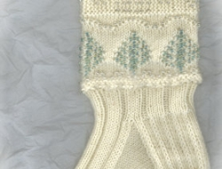 Beaded Winter Wonderland Socks e-Pattern
