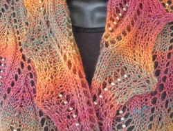 Flames of Fall Stole e-Pattern