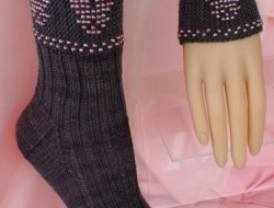 Spooky Beaded Treat Wristlets and Matching Socks e-Pattern