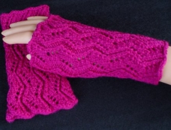 Easy ZigZag Hand Coverings (a.k.a. Errant Lace) e-Pattern