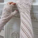 Terzetto Lace Mitts (Victorian style fingerless gloves) e-Pattern