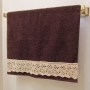 Lace Embellished Towel