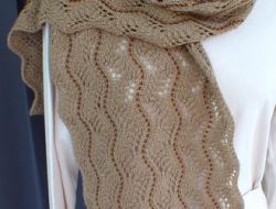 Beaded Lace II Scarf e-Pattern
