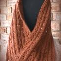 Soft Cables Moebius Infinity Scarf or Wrap e-Pattern