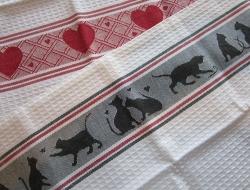 100% Cotton Waffle Weave Kitchen Towels