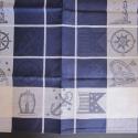 Jacquard Woven Linen/Cotton Towels