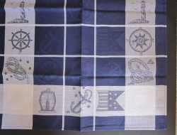 Jacquard Woven Linen/Cotton Towels