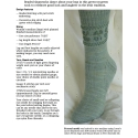 Frolicking Shamrocks Socks e-Pattern