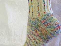 Mixed Jelly Beans Socks Kit (includes pattern)