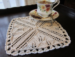 Tea-time Serviette e-Pattern