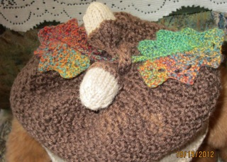 Acorn Leaf Knitting Pattern : Turning a Lace Edging into a Leaf Knit HeartStrings ...