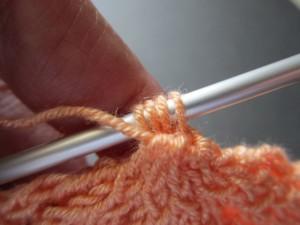 gathered woven closure