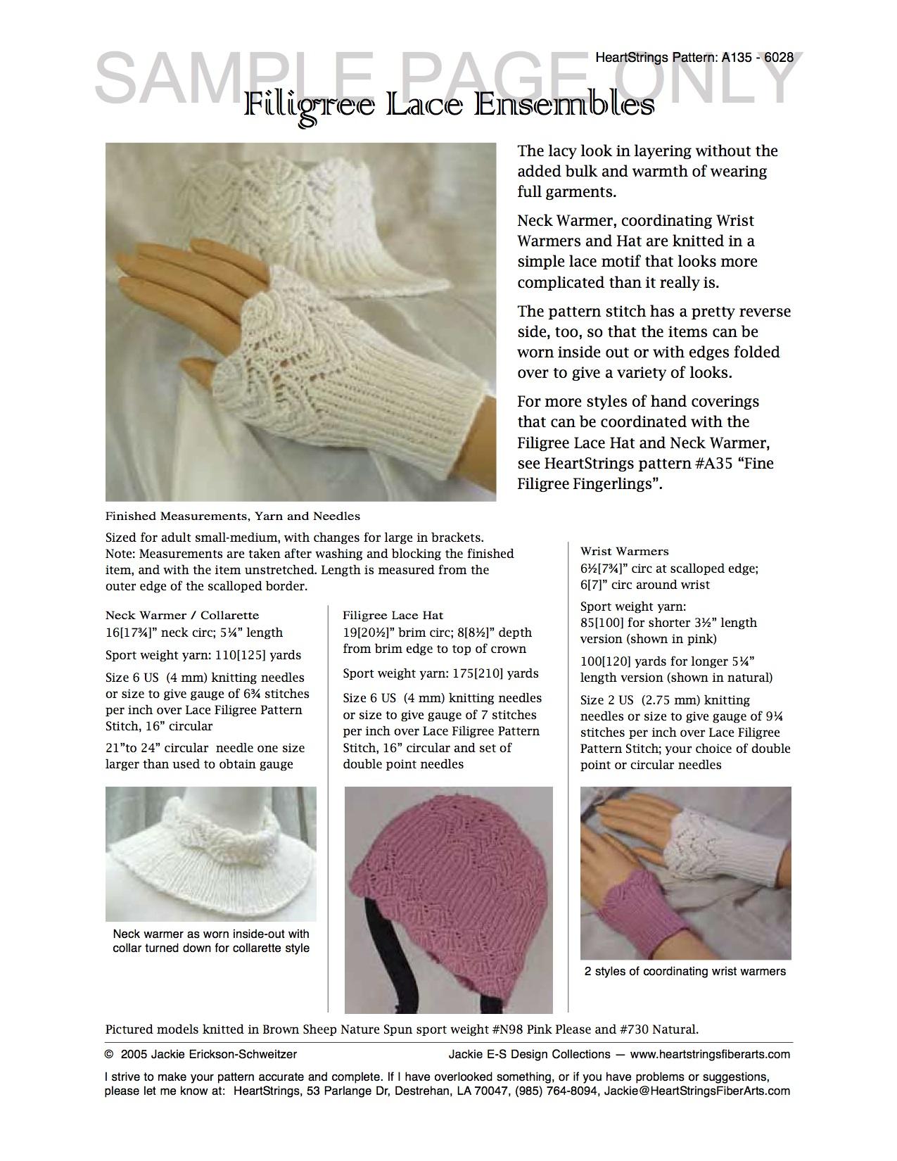 Item# 79   Knit HeartStrings Learn-and-Knit-Alongs