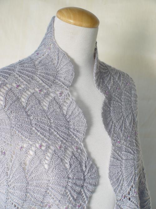 Knitting Pattern Lace Jacket : Item# 87 Knit HeartStrings Learn-and-Knit-Alongs