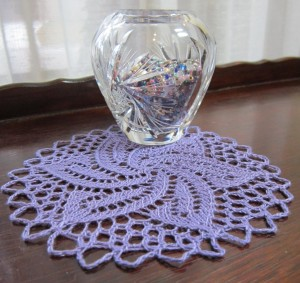 Thread Doily variation of Lace Doily Beret