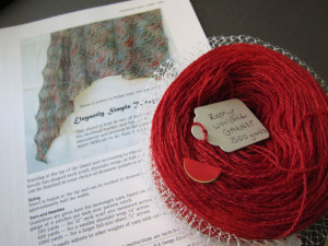 2014 April Prize Drawing for Jaggerspun Zephyr lace yarn and shawl pattern