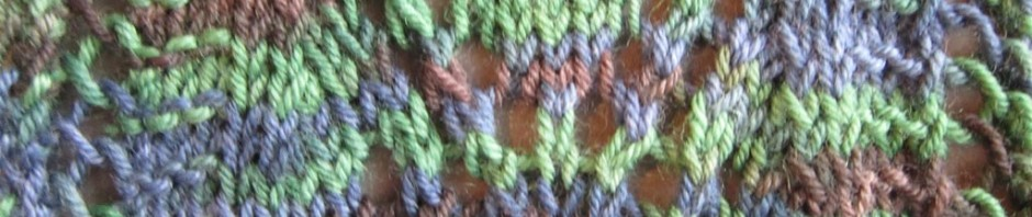 bias effects on knitted fabric