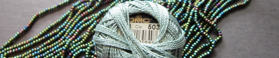lower quality Czech beads can be purchased in hanks of pre-strung strands