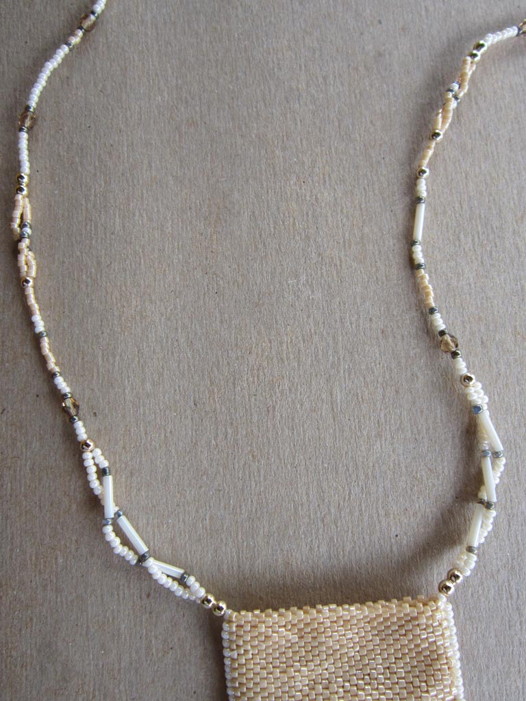 fancy twisted beaded cord