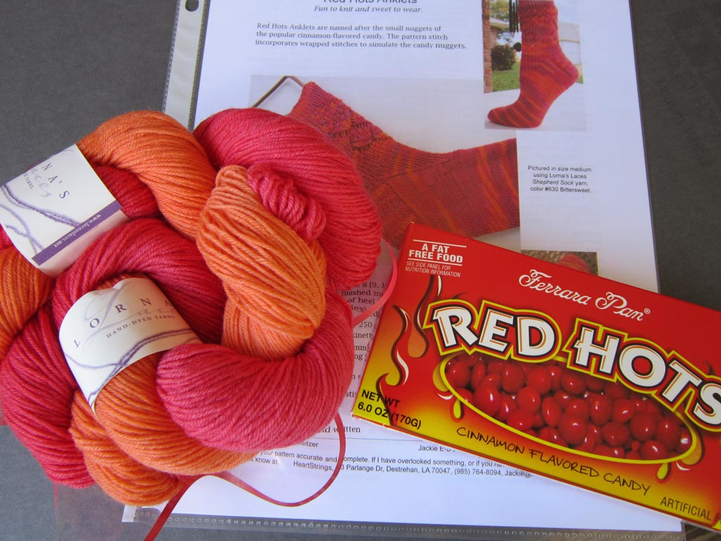 Red Hot Summer Knitting Kit
