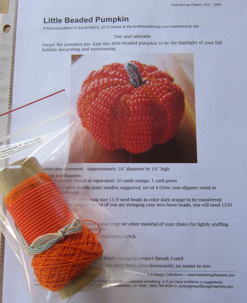Little Headed Pumpkin Kit