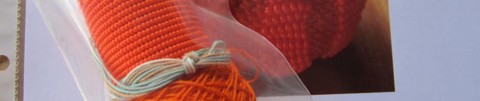 Little Beaded Pumpkin Kit