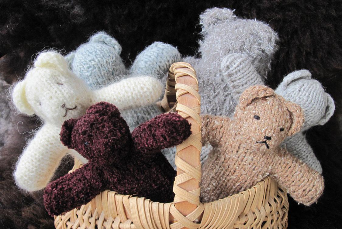Modern Knitting Pattern For A Teddy Bear Composition - Blanket ...
