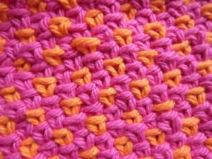 spot woven stitch pattern