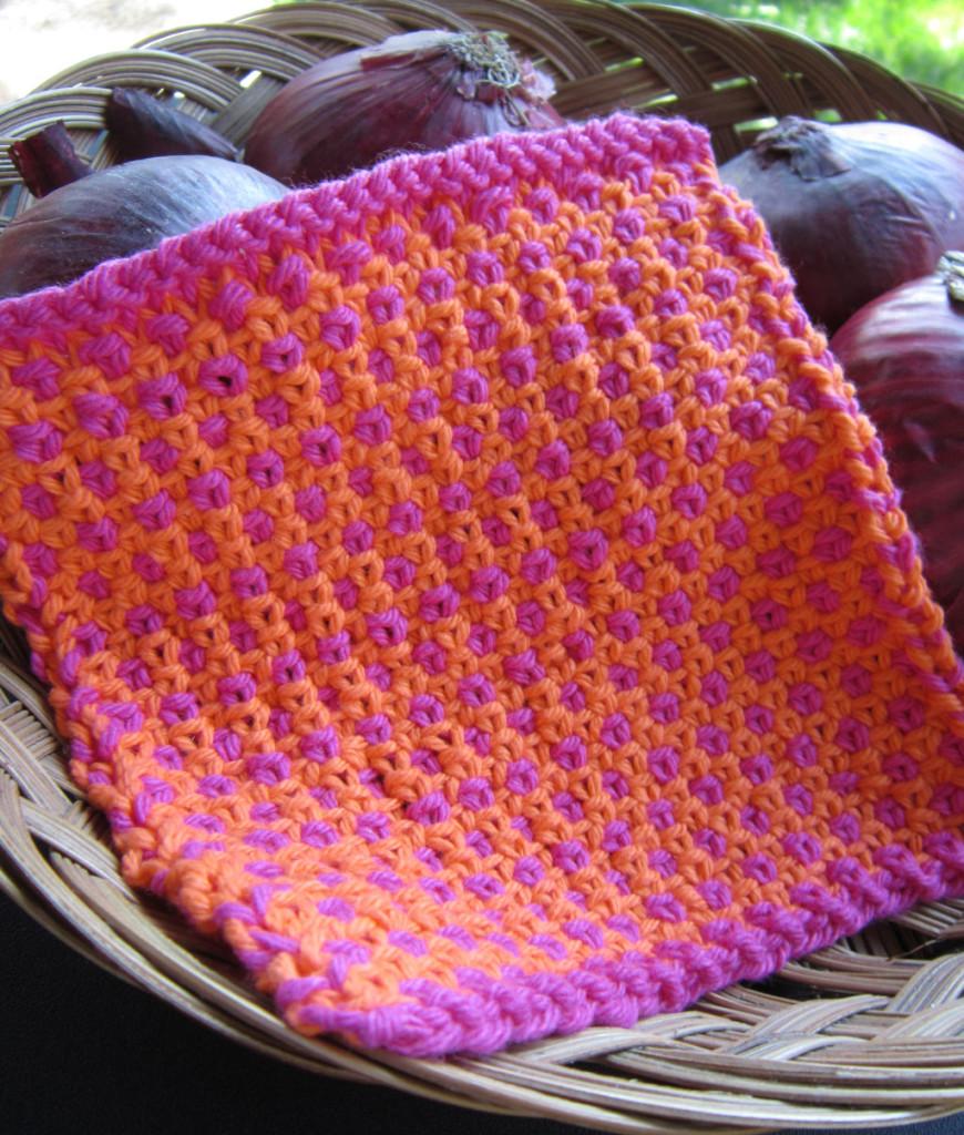 Spot Woven Dishcloth