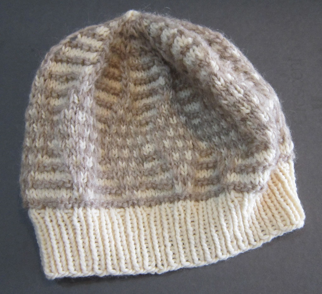Mosaic Diamond Hat (unbeaded)