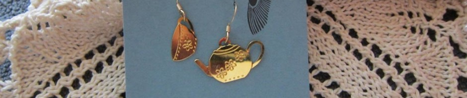Tea Set Earrings